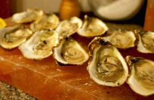 oysters, common fare at the best fine dining restaurants in downtown charleston sc