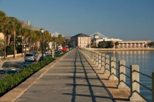 The Battery is within walking distance of the Historic Charleston City Market