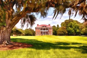 drayton hall plantation, another charleston tourist attraction of interest to fans of the old exchange and provost dungeon